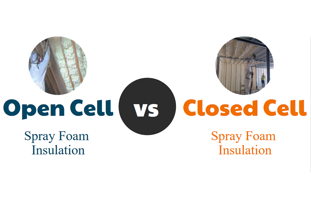 What is better open or closed cell insulation